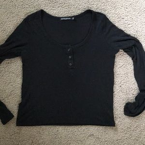 3/$15 Brandy Melville black long sleeve